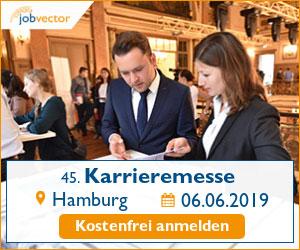 jobvector career day Hamburg 2019 - kostenfrei anmelden!